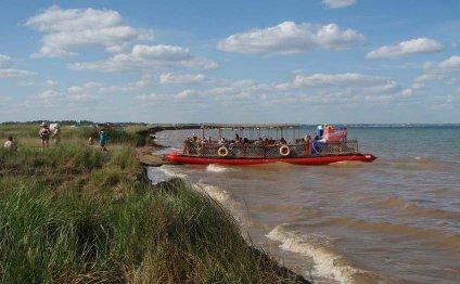 Соленые озера Алтайского края