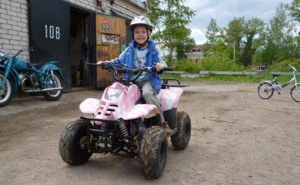 Детские бензиновые мотоциклы и