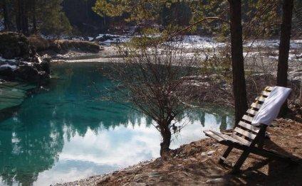 Горный Алтай : Голубые озера