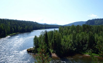 МИР Горного Алтая - Река Бия
