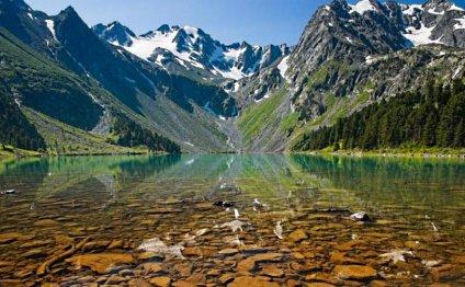 фотографий озера Алтая