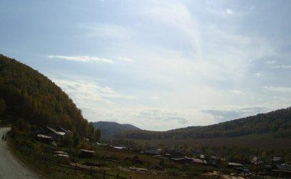 Домики в Горном Алтае