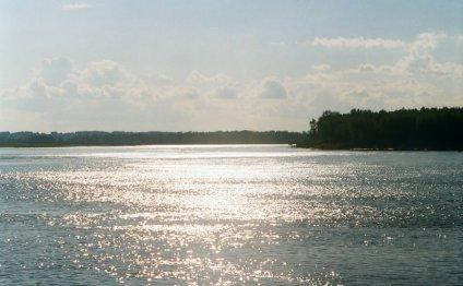 Фотография реки Обь