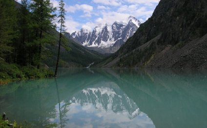 Солёные озёра Алтая