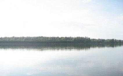 Ширина реки Обь (взор