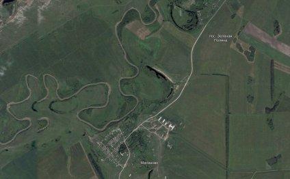 Спутниковая карта Алтайского