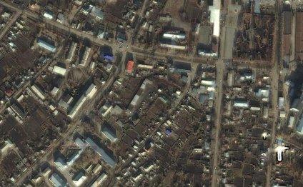 Карта Тальменка со спутника